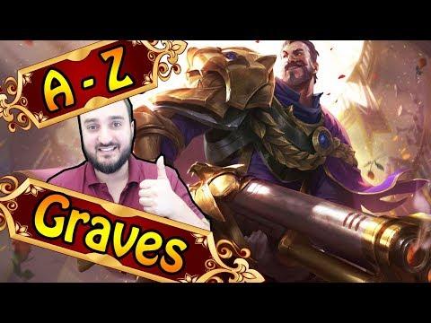 A-Z GRAVES JUNGLE, BAMF mit viel Schaden | League of Legends thumbnail