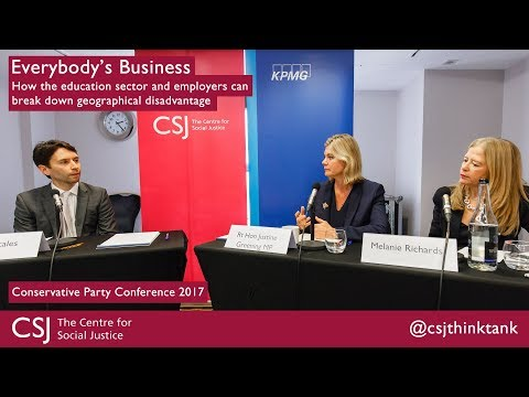 Everybody's Business: How the education sector and employers can work together at #CPC17