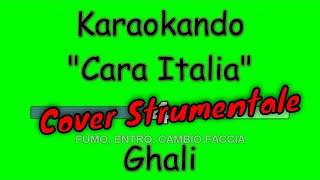 Karaoke Italia - Cara Italia - Ghali ( Testo )