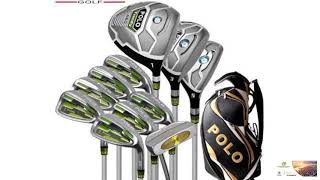 Genuine POLO New Golf Complete 11PCS Clubs Set and Standard Bag Men Golf Stainless Steel