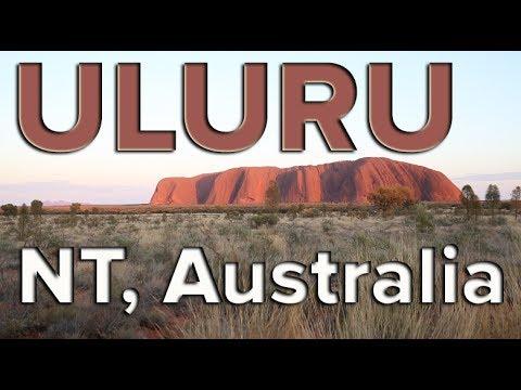 The Rock Of Uluru - NT, Australia