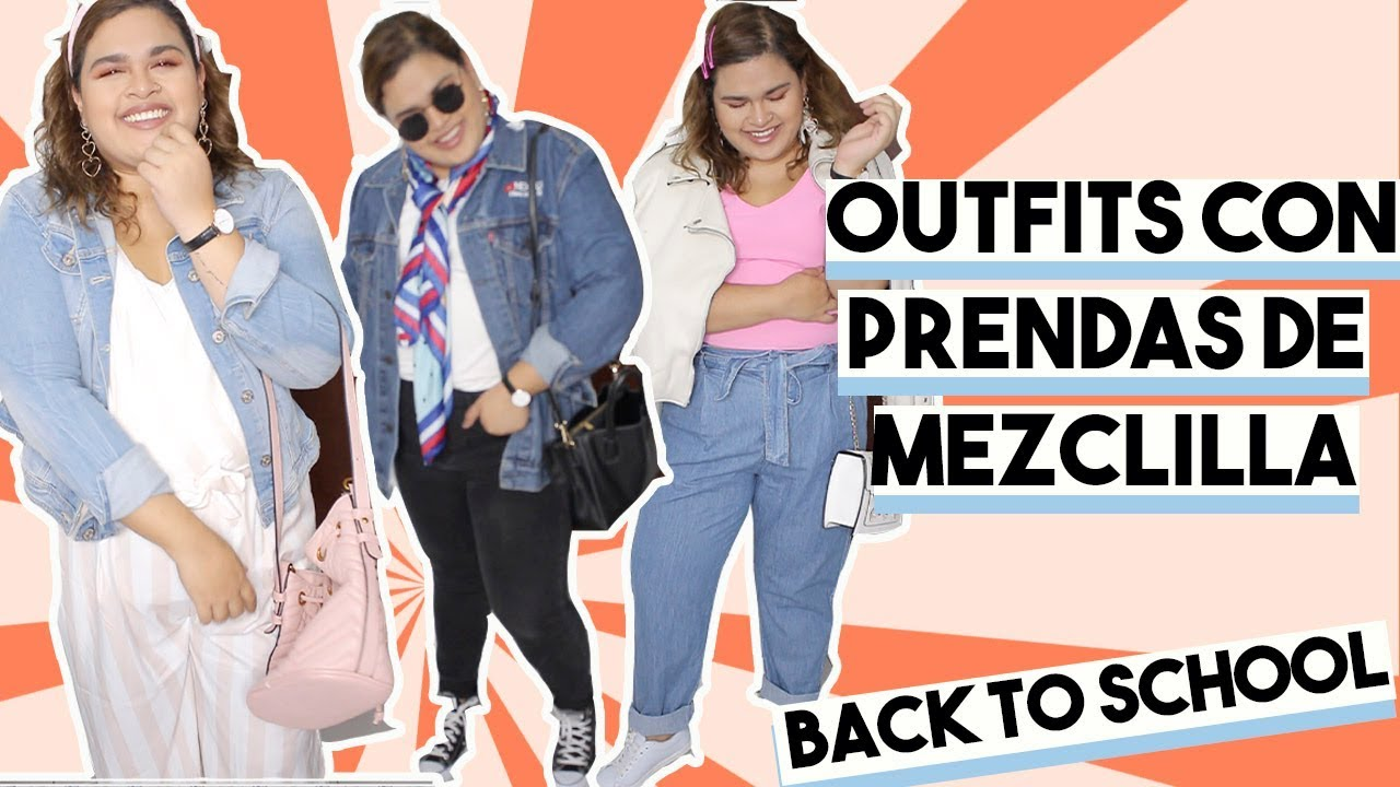 OUTFITS CON PRENDAS DENIM!! Casual back to school outfit ideas! 4