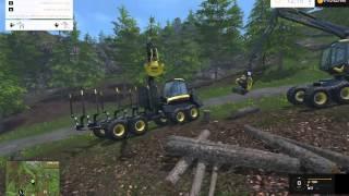 Farming Simulator 2015 Woodcutting #1