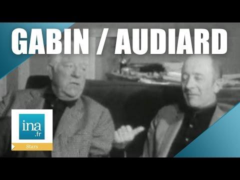 Jean Gabin et Michel Audiard, une histoire d'amitié   Archive INA
