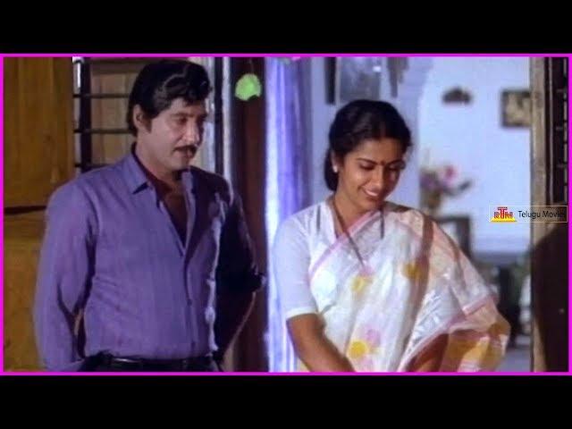Punya Dampathulu Telugu Movie Scenes | Sobhan Babu | Suhasini Maniratnam