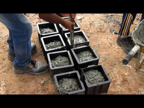 How to do Concrete Cube Test at Construction Site