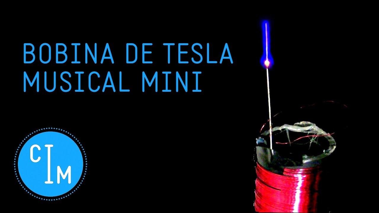 Circuito Bobina De Tesla : Bobina de tesla musical mini como hacer una bobina tesla musical