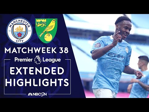 Manchester City v. Norwich City | PREMIER LEAGUE HIGHLIGHTS | 07/26/2020 | NBC Sports