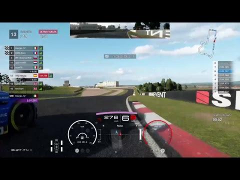GT Sport. T.10 Ronda 2 V12 Vantage Gr3  TRZ-rimuaz