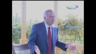 Ислом Каримов дар бораи Рогун