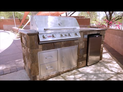 How To Assemble An RTF Systems Outdoor Kitchen Cabinet