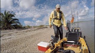 Kayak Fishing SeaWolf Park, Galveston TX