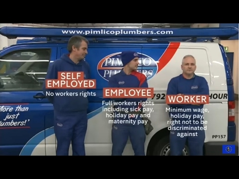 Plumber wins employment rights for self employed workers