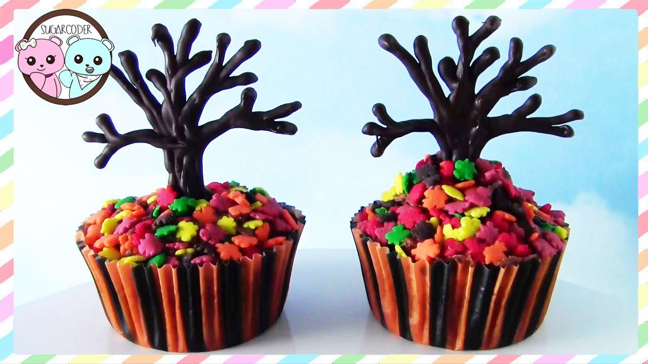 Fall Cake Tree