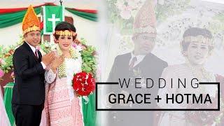 "Bahagia!!! Begini ""Poda"" Orangtua Kepada Borunya di Pesta Adat Toba - Wedding Pdt Grace dan Hotma"