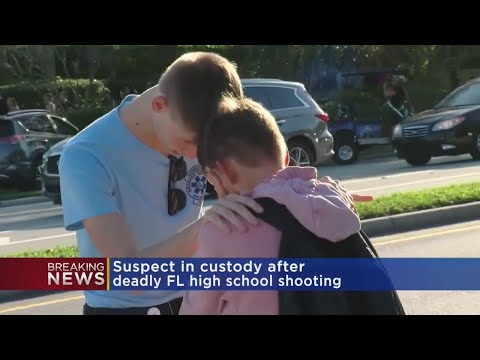 At Least 17 Dead In Florida High School Shooting