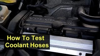 How to check or test your car coolant hoses - Auto Information Series