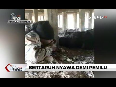 Detik-detik TNI-Polri \u0026 Anggota KPPS Diserang KKB Saat Amankan Hasil Hitung Suara