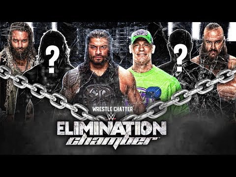 WWE Elimination Chamber 2018 Predictions All 6 Participants in Elimination Chamber Match 2018