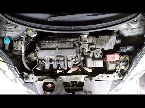 Engine Bay Detailing : Honda Brio 2014