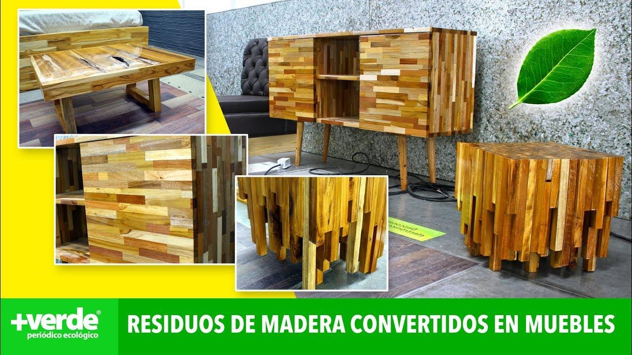 Aprende a hacer mobiliario a partir de residuos de madera en el SENA ...