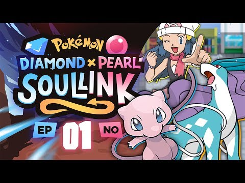 "Pokemon Diamond & Pearl Soul Link Randomized Nuzlocke W/ Astroid EP 01 - ""ITS US!!!"""