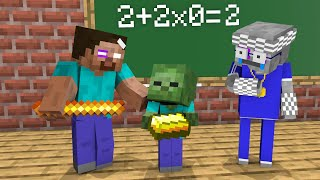 Monster School : Funny Class - Minecraft Animation