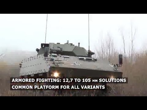 Nexter Systems - VBCI 8X8 Amoured Infantry Fighting Vehicle [360p]
