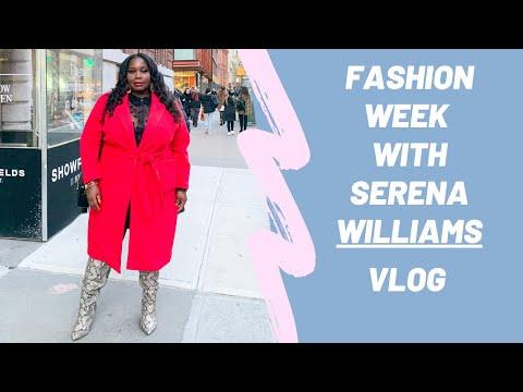 New York Fashion Week With Serena Williams & Anna Wintour