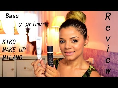 KIKO MAKEUP MILANO | Base de maquillaje - Primer | REVIEW | DiarioDay