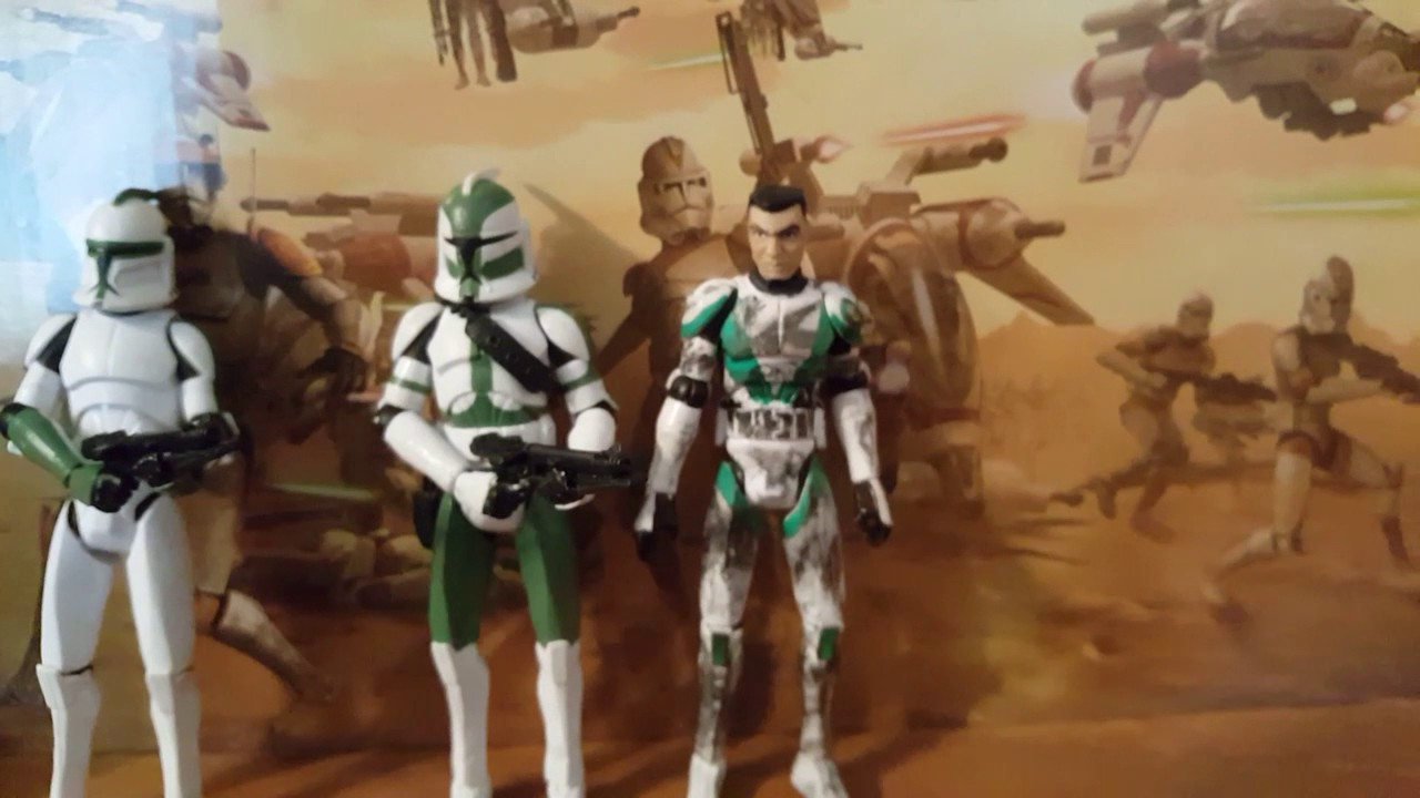 Star Wars The Clone Wars Custom Figures Clone Troopers