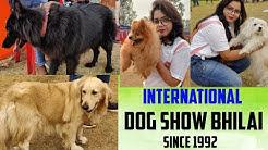 BHILAI ME 20TH INTERNATIONAL DOG SHOW  SBSE BDI BREED KE DOG IN BHILAI 