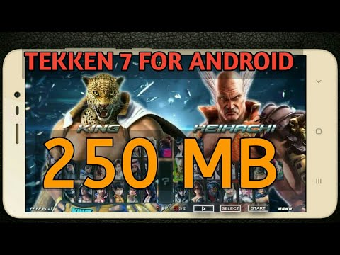 450 Mb] Download & Play Tekken 7 on Android {High Speed+