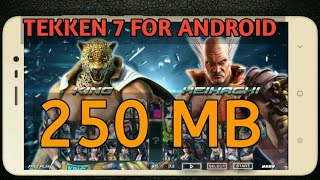 How to Download & Play [tekken 7 game on android ppsspp]