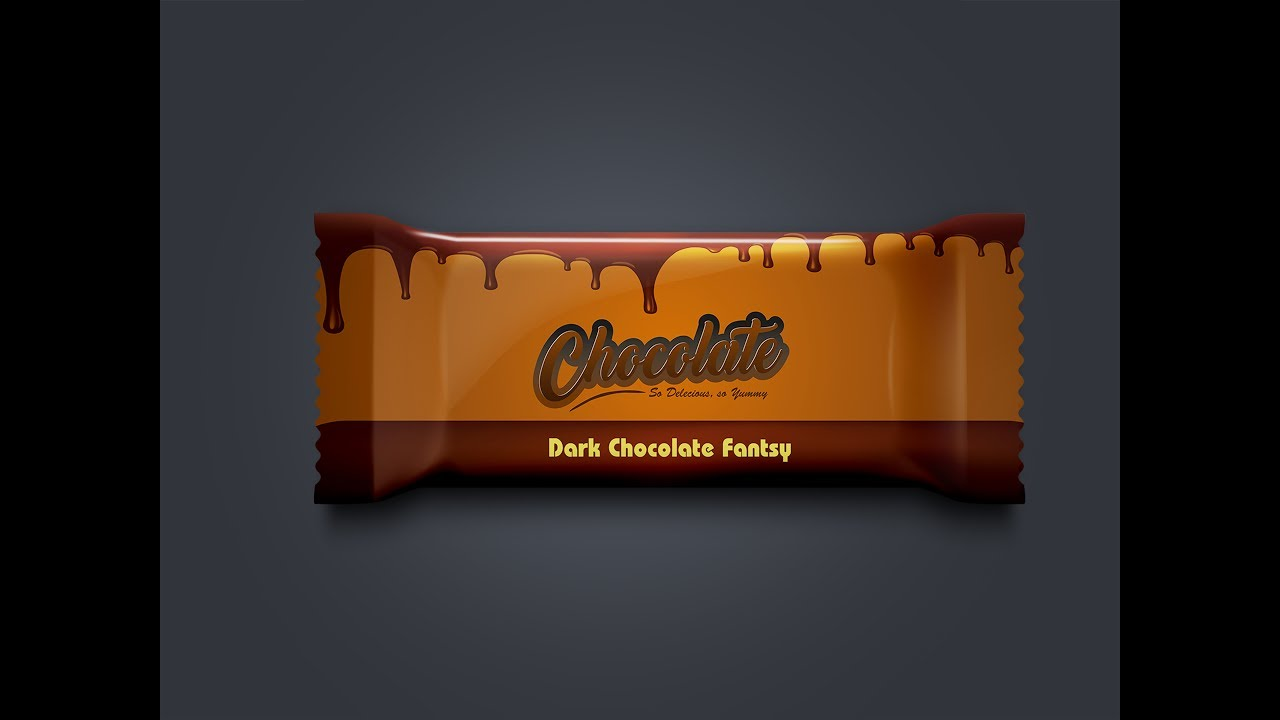 How To Make Product Packaging Design Chocolate Wrapper In Coreldraw
