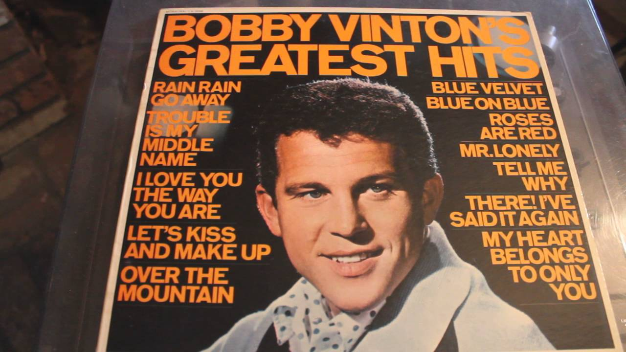 Bobby Vinton Roses Are Red Greatest Hits Lp Youtube