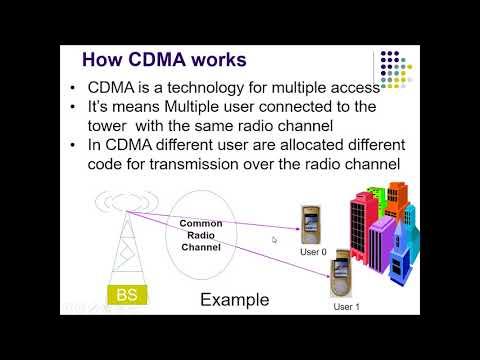 CDMA Cellular Radio Network