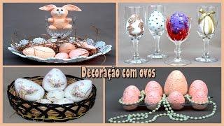 DECORAÇÃO DE OVOS PARA A PÁSCOA
