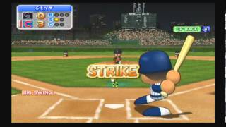 MLB Power Pros 2008 (Wii) NLDS Game #1 Rockies @ Cubs