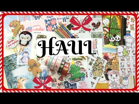 Holiday Planner Haul / Stickers, Accessories & More