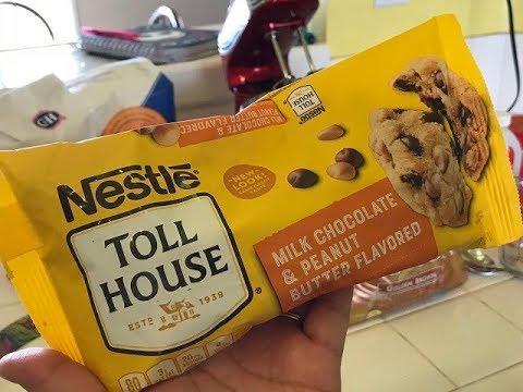 Nestle Double Peanut Butter & Chocolate Cookies Recipe!