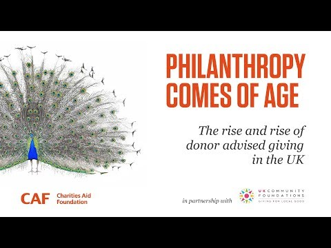 Philanthropy Comes of Age | David Stead | Charities Aid Foundation