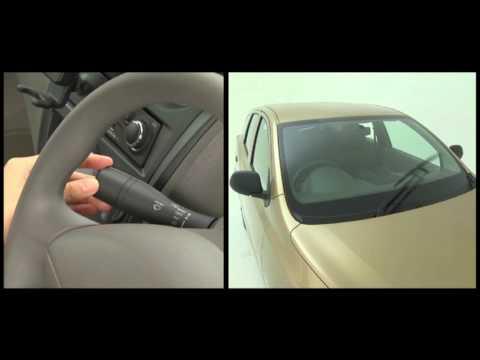 Panduan cara menggunakan Wiper dan Pembasuh Kaca Datsun Go Plus