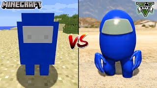 MINECRAFT AMONG US VS GTA 5 AMONG US - WHICH IS BEST?