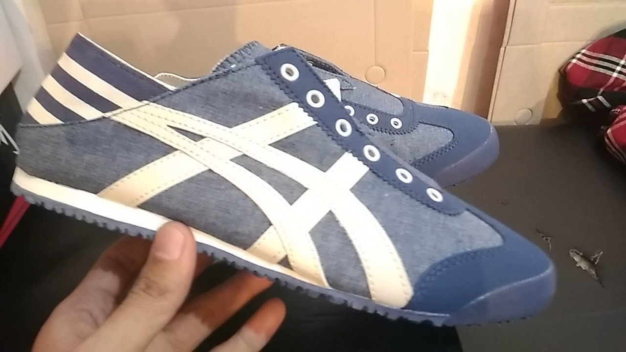 newest c608e 0c304 Onitsuka Tiger Mexico 66 Slip On Paraty