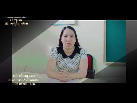 Lời chúc của các thầy cô giáo gửi đến K55 - Trường THPT Chuyên Lương Văn Tụy
