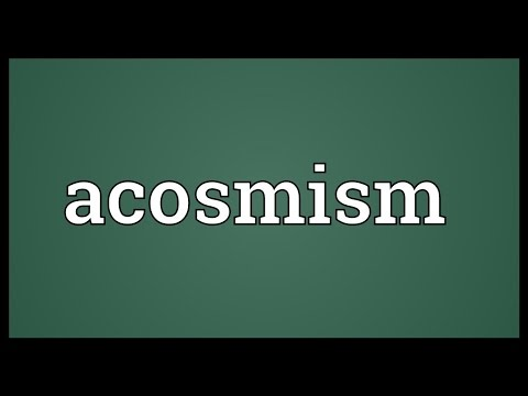 Header of acosmism