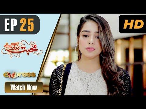 Mohabbat Zindagi Hai - Episode 25 - Express Entertainment Dramas