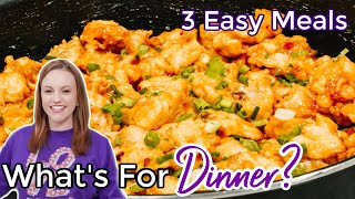 WHAT'S FOR DINNER? | EASY DINNER IDEAS | SIMPLE FAMILY MEALS | NO. 47