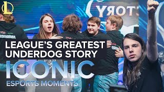 ICONIC Esports Moments: League's Greatest Underdog Story, ANX at Worlds 2016